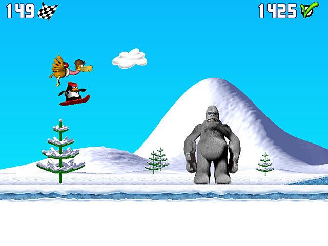 Spel Screenshot 1 Penguin versus Yeti