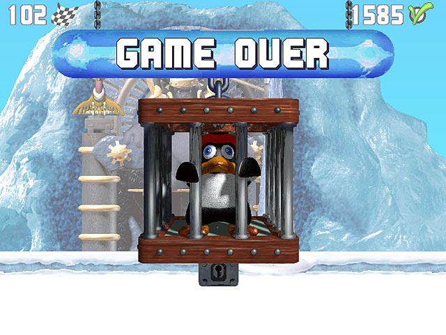 Spel Screenshot 2 Penguin versus Yeti