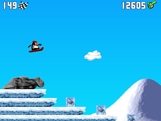 Spel Screenshot 3 Penguin versus Yeti