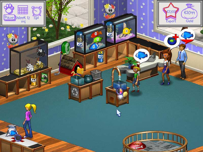 Spel Screenshot 2 Pet Shop Hop