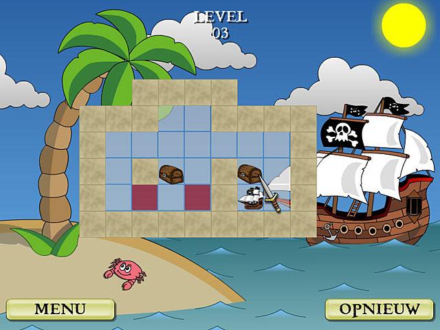 Spel Screenshot 2 Pirate Solitaire