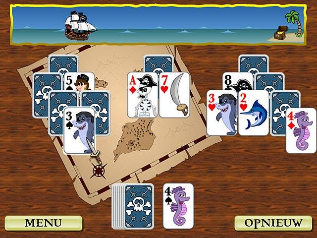Spel Screenshot 3 Pirate Solitaire