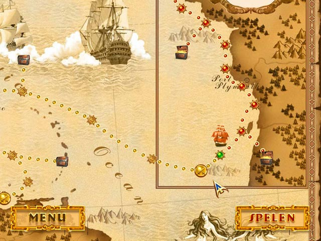 Spel Screenshot 2 Pirate Stories: Kit & Ellis