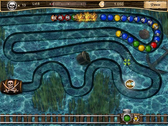 Spel Screenshot 1 Pirate Poppers