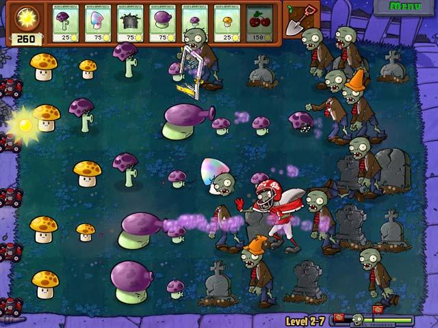 Spel Screenshot 2 Planten tegen Zombies