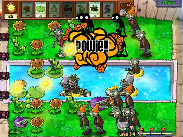 Spel Screenshot 3 Planten tegen Zombies