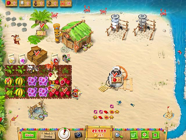 Spel Screenshot 3 Ranch Rush 2 - Sara's Island Experiment