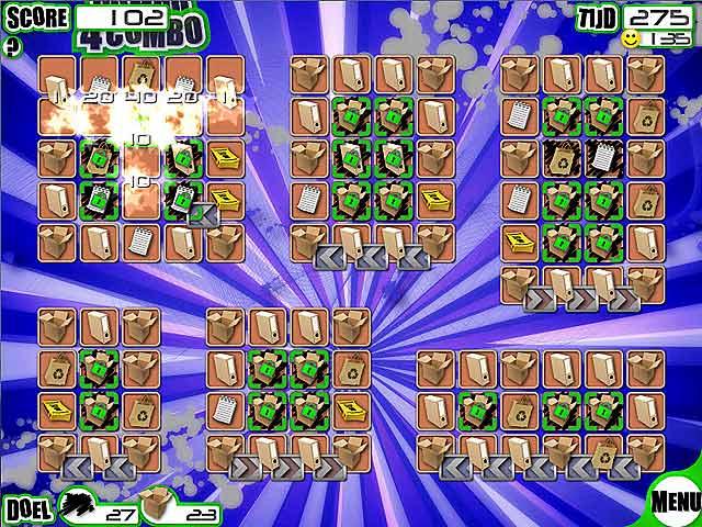 Spel Screenshot 3 Recyclomania!