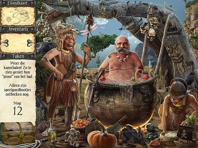Spel Screenshot 1 Robinson Crusoe en de Vervloekte Piraten