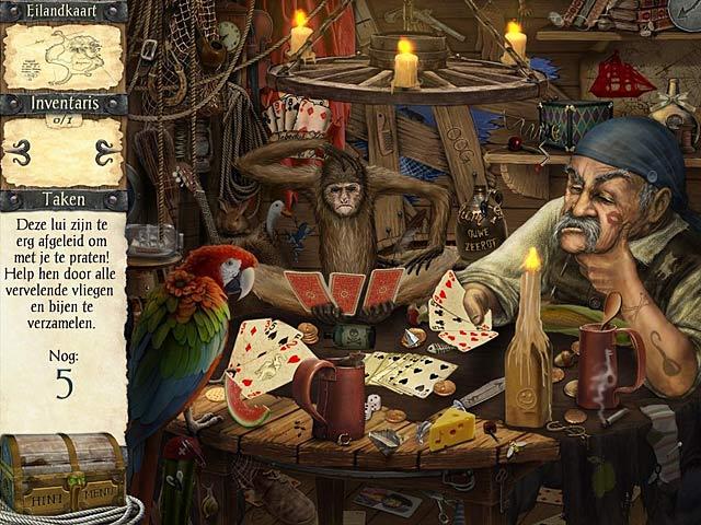 Spel Screenshot 2 Robinson Crusoe en de Vervloekte Piraten