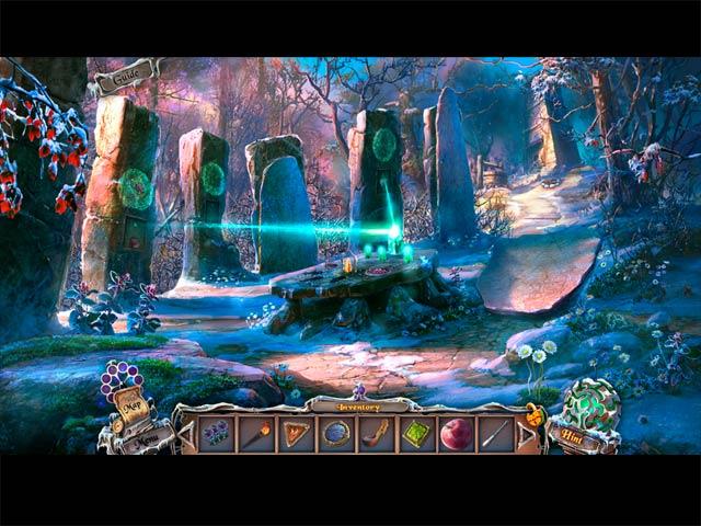 Spel Screenshot 2 Sable Maze: Forbidden Garden Collector's Edition