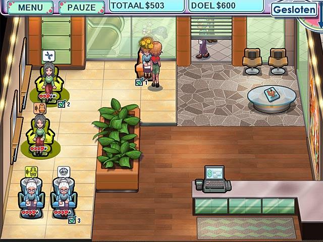 Spel Screenshot 1 Sally's Salon