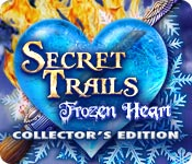 Feature Screenshot Spel Secret Trails: Frozen Heart Collector's Edition