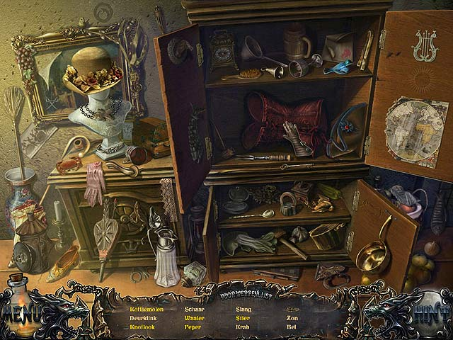 Spel Screenshot 1 Shadow Wolf Mysteries: Vloek van de Volle Maan