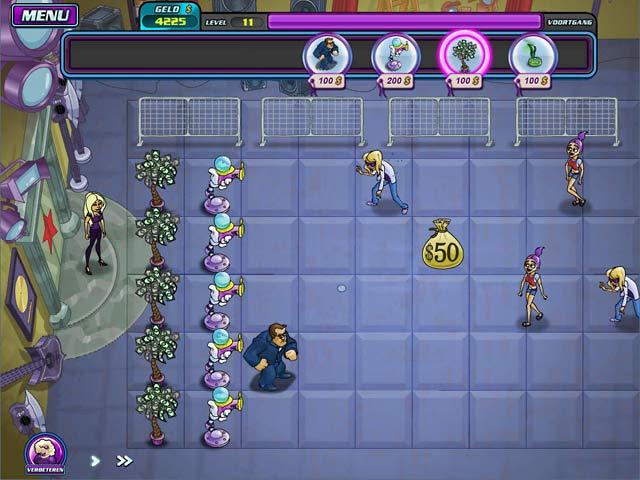 Spel Screenshot 1 Shannon Tweeds! - Overal Groupies