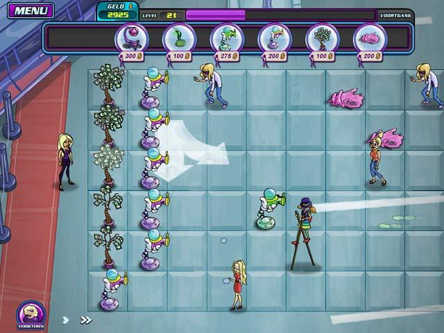Spel Screenshot 3 Shannon Tweeds! - Overal Groupies