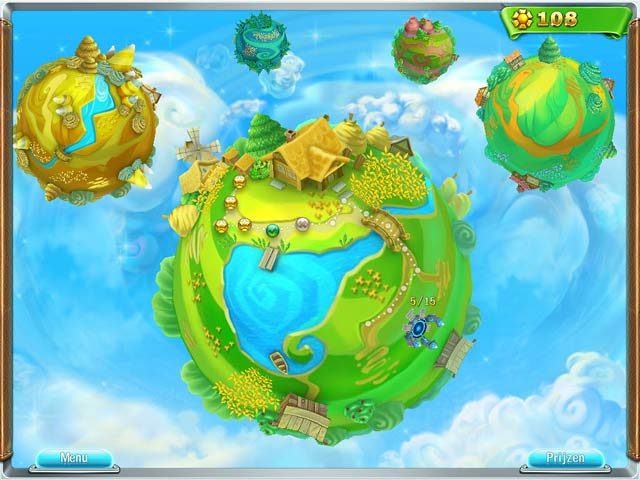 Spel Screenshot 2 Snow Globe: Farm World