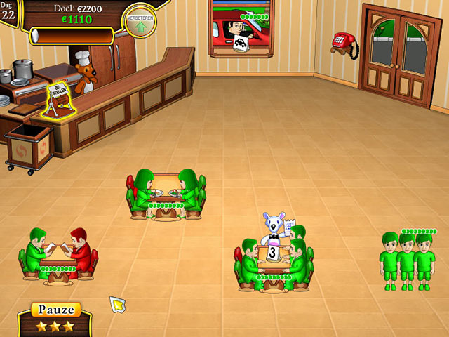 Spel Screenshot 3 Snowy Lunch Rush