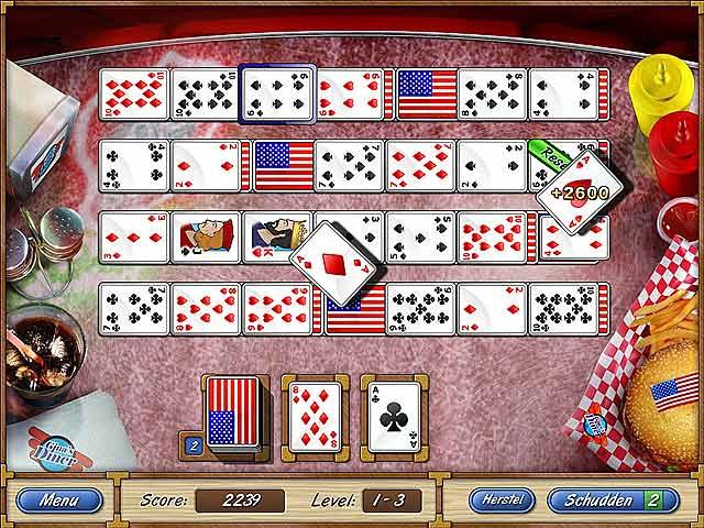 Spel Screenshot 1 Solitaire Cruise