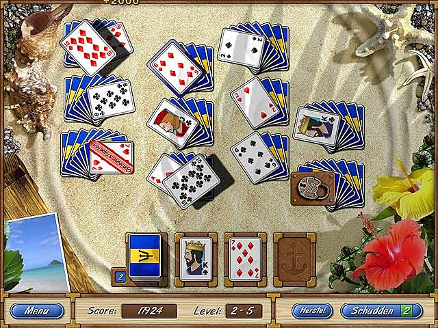 Spel Screenshot 2 Solitaire Cruise