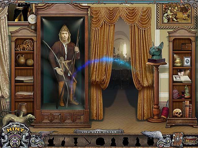 Spel Screenshot 2 Solitaire Mystery: Stolen Power