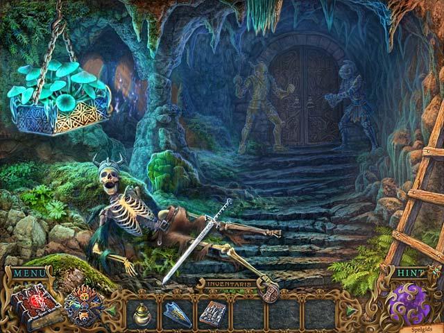Spel Screenshot 2 Spirits of Mystery: De Zwarte Minotaurus Luxe Editie