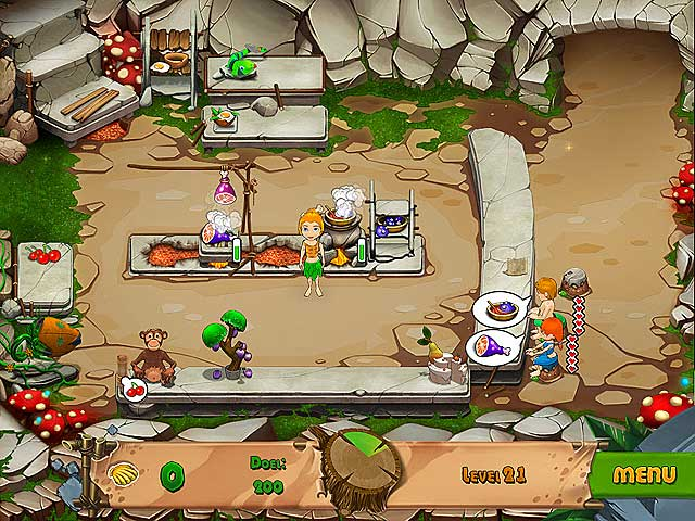 Spel Screenshot 2 Stone Age Cafe