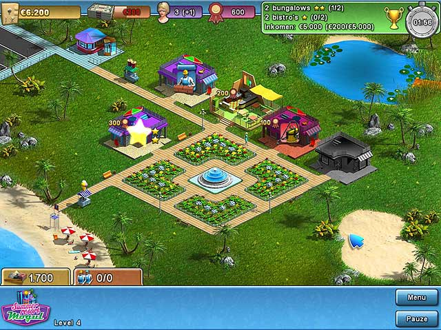 Spel Screenshot 1 Summer Resort Mogul