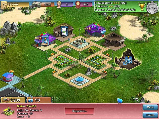 Spel Screenshot 3 Summer Resort Mogul