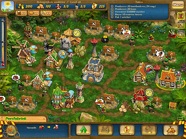Spel Screenshot 2 Sweet Kingdom: Betoverde Prinses