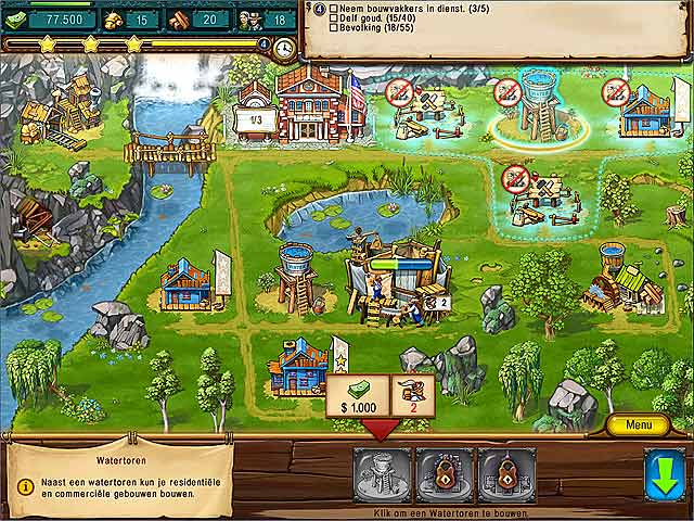Spel Screenshot 1 The Golden Years: Way Out West