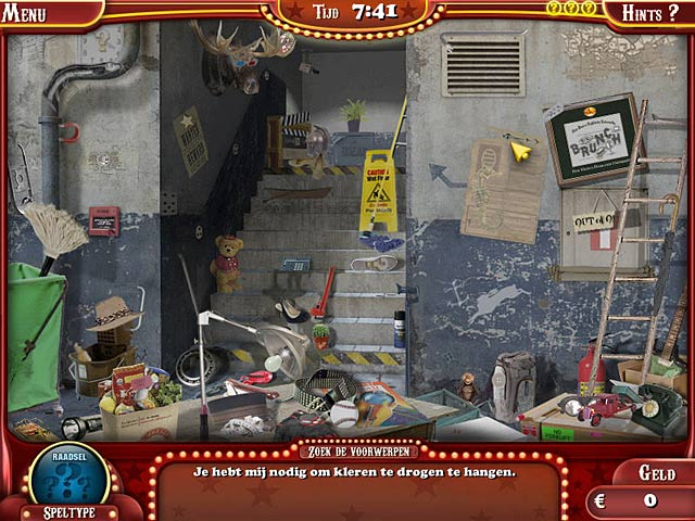 Spel Screenshot 3 The Hidden Object Show