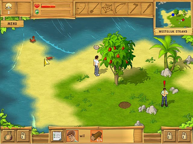 Spel Screenshot 1 The Island: Castaway