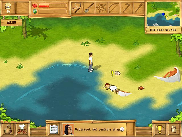 Spel Screenshot 3 The Island: Castaway