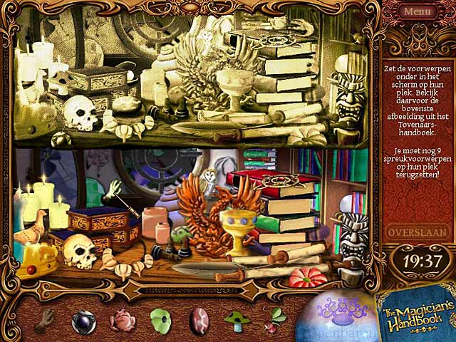 Spel Screenshot 1 The Magician's Handbook II: Blacklore