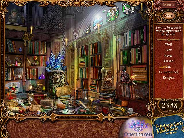 Spel Screenshot 3 The Magician's Handbook II: Blacklore