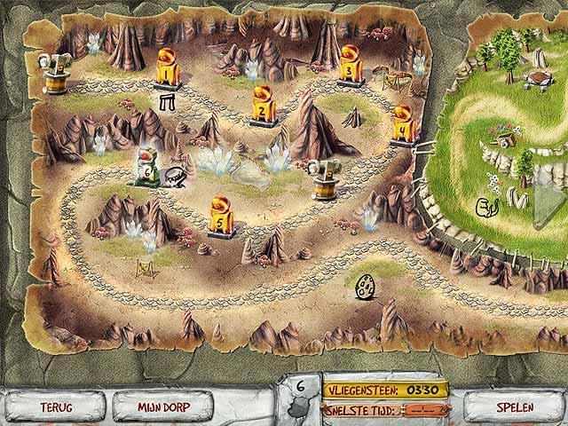 Spel Screenshot 2 The Timebuilders: Caveman's Prophecy