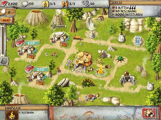 Spel Screenshot 3 The Timebuilders: Caveman's Prophecy