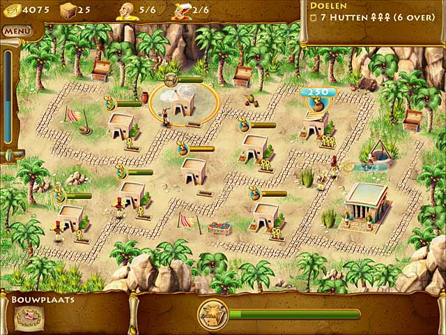 Spel Screenshot 1 The Timebuilders: Pyramid Rising