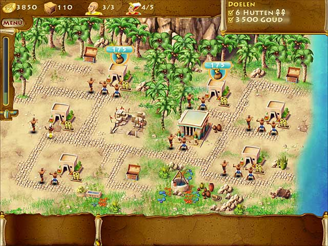 Spel Screenshot 3 The Timebuilders: Pyramid Rising