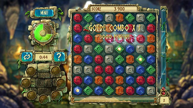 Spel Screenshot 1 The Treasures of Montezuma 3