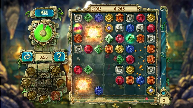Spel Screenshot 3 The Treasures of Montezuma 3