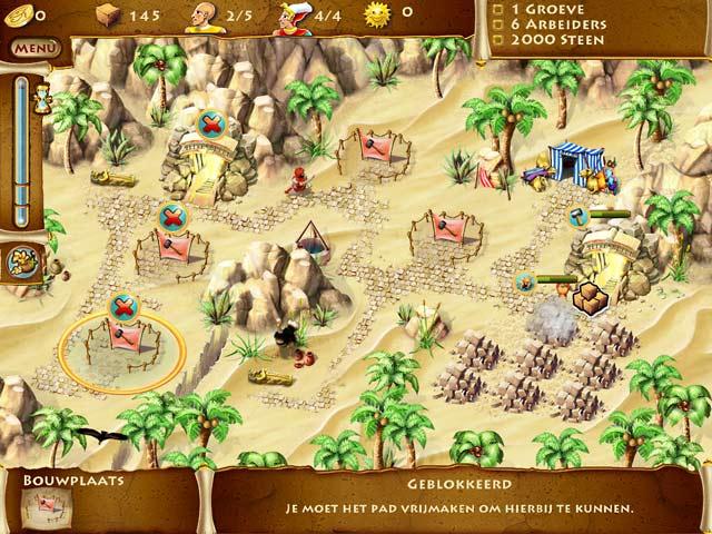 Spel Screenshot 2 The TimeBuilders: Pyramid Rising 2