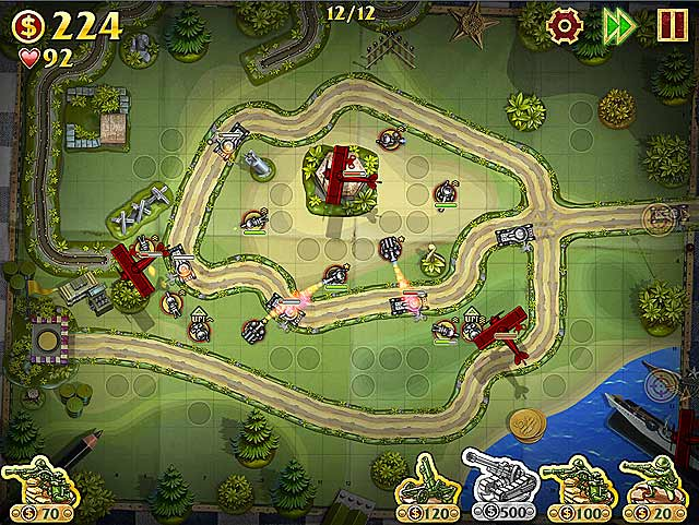 Spel Screenshot 2 Toy Defense