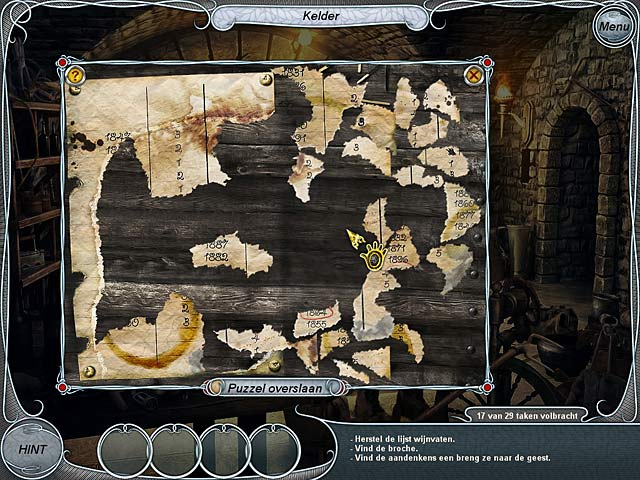Spel Screenshot 3 Treasure Seekers: Volg de Geesten