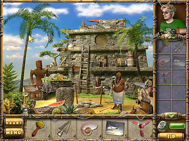 Spel Screenshot 1 The Treasures of Mystery Island