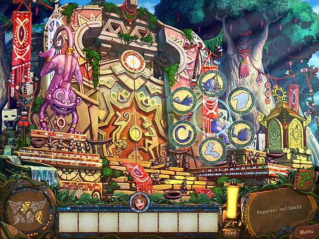 Spel Screenshot 3 Tulula: Legend of a Volcano