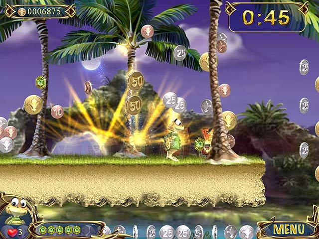 Spel Screenshot 2 Turtle Odyssey 2