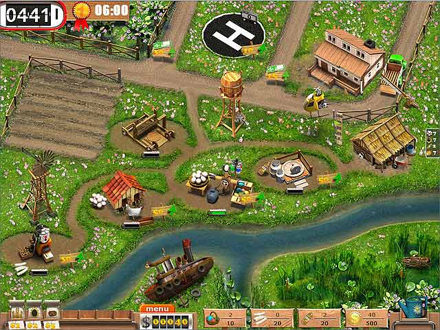 Spel Screenshot 2 TV Farm