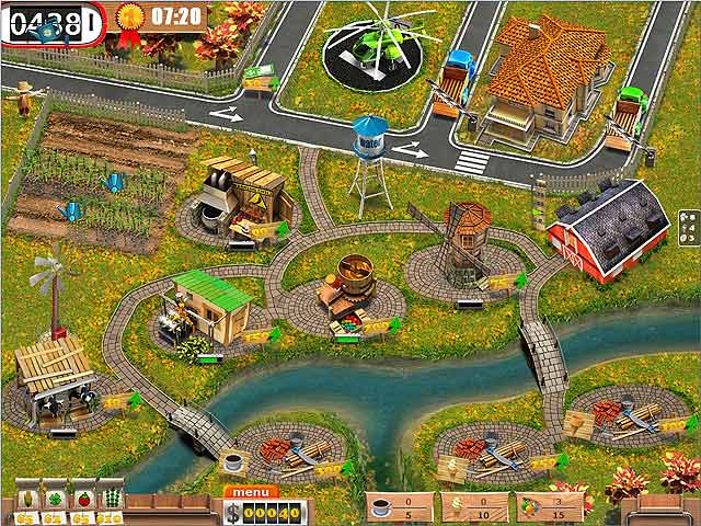 Spel Screenshot 3 TV Farm
